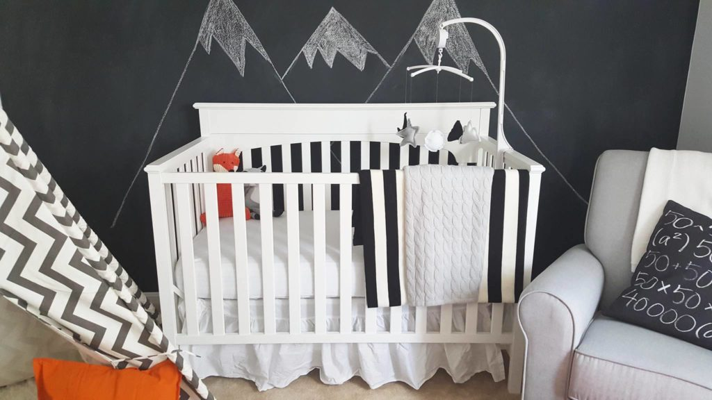 Black, White and Grey Nursery