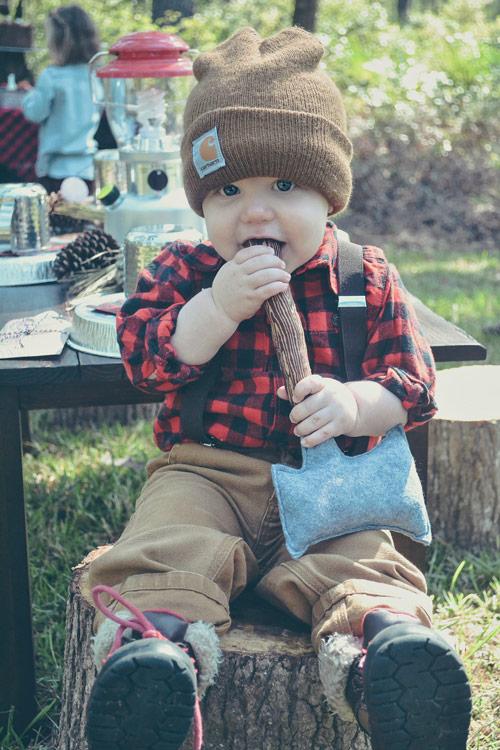 lumberjack-party-baby