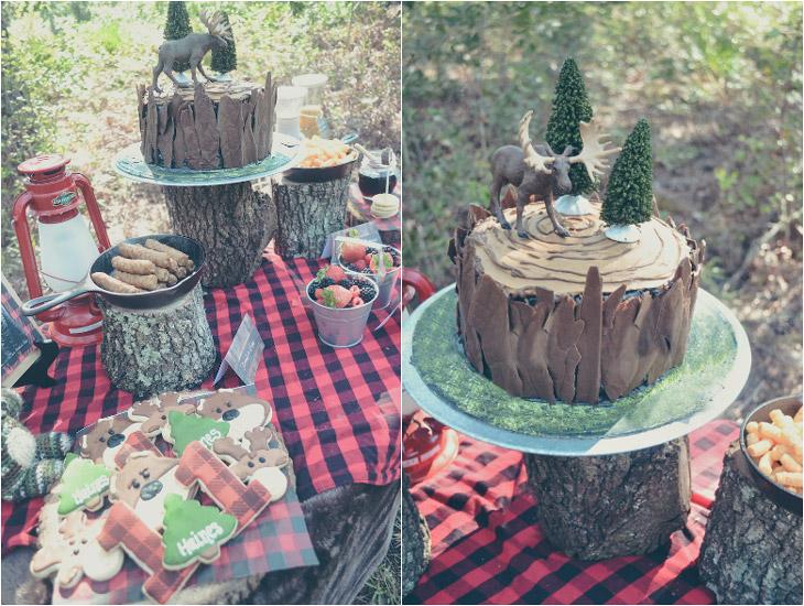 woodland-cake-decor